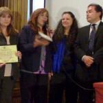 Entrega de la primera edición del Premio Raquel Liberman