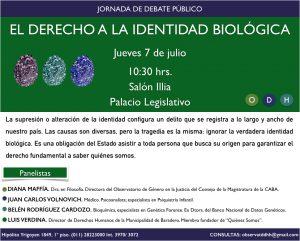 INVITACIÓN IDENTIDAD BIOLÓGICA